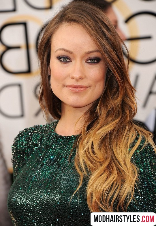 2016 long ombre hairstyle