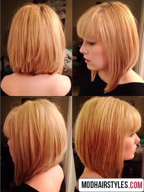 Charming Bob Hairstyles And Haircuts With Bangs