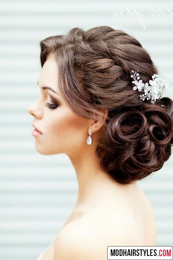 Hairstyle Wedding : 2016 Bridal hairstyles and bridal hairstyle trends