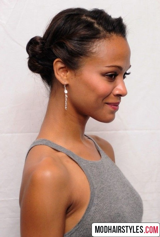 bun hairstyles for short hair   20 charming bun hairstyles
