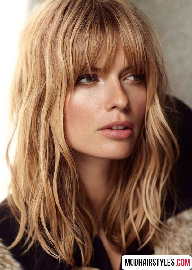 Medium Haircuts With Bangs 30 Gorgeous Medium Haircut