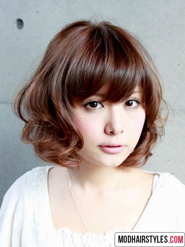 Short Cute Hairstyles lovely and cute short curly hairstyles Short Hairstyles With Bangs