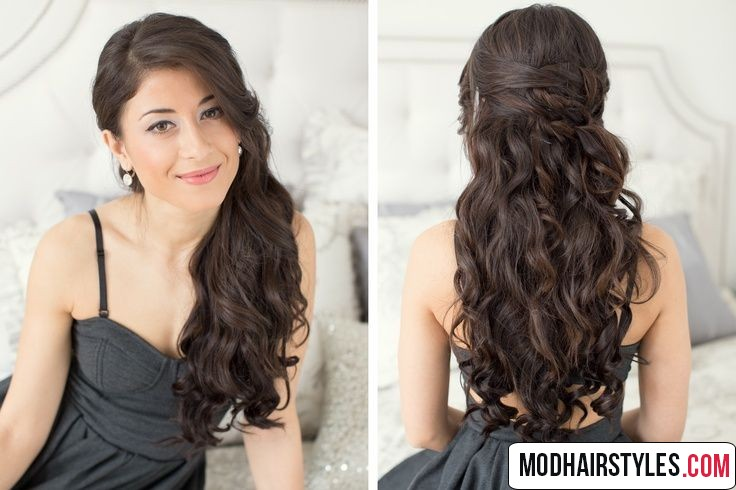 wavy hairstyle idea for long hairstyle