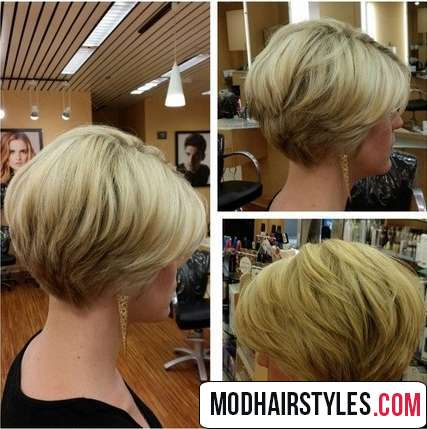 bob haircut for thin hair from every angle