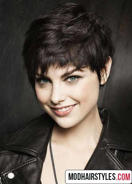 Short Hairstyles For Thick Hair Elegant Short Haircuts