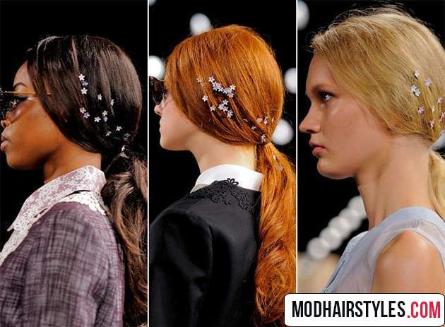 Flower hairstyle accessory