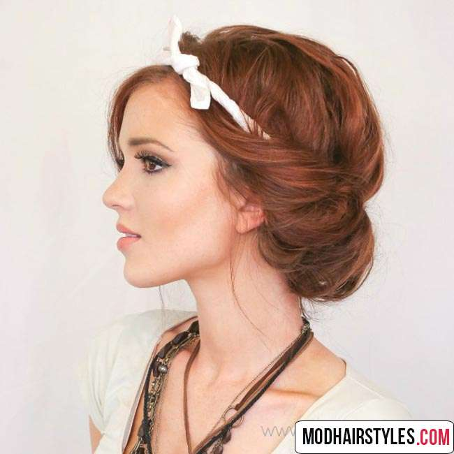 Stylish hairstyle idea