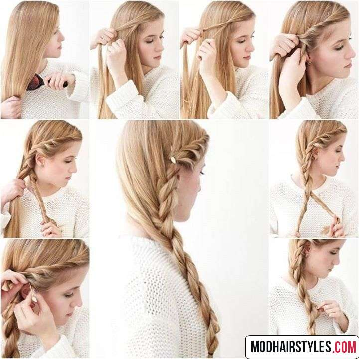 elegant hairstyle tutorial