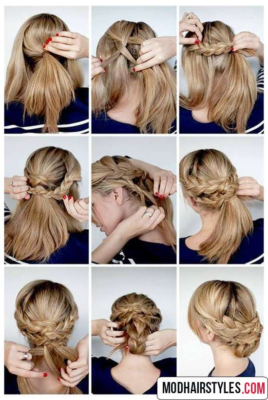 elegant hairstyle tutorials for medium hair length